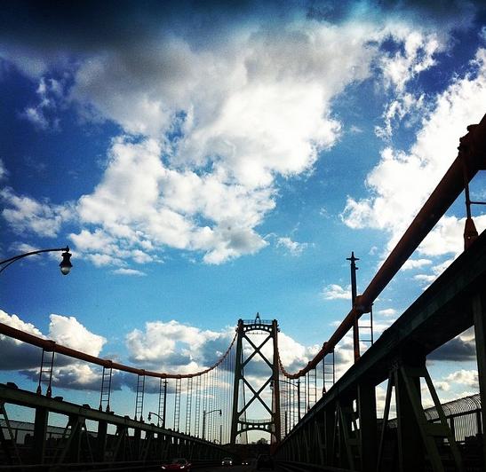 Entering Halifax